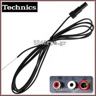 technics-sl-bd22-turntable-ground-wire-3345rpm-gr