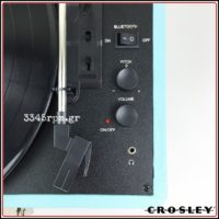 Crosley Cruiser Deluxe Portable Turntable 3345rpm.gr