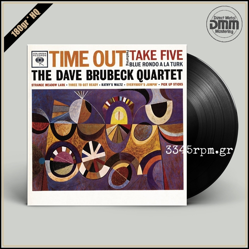 Brubeck, Dave - Time Out - Vinyl LP 180gr