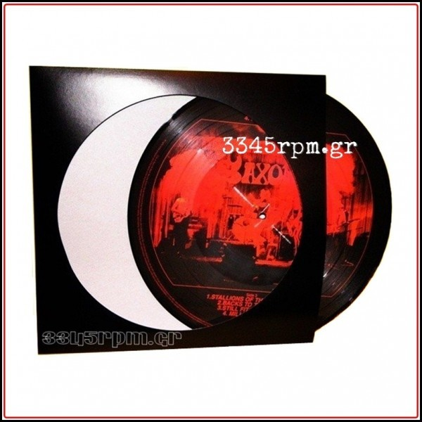 Standard cover for Picture Disc 12inch Black (SET 5)