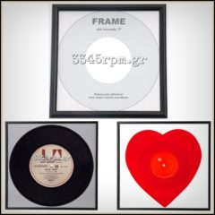 Vinyl Record Frame Display 45s - 7inch