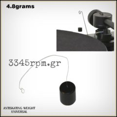 Anti-skating Weight for Turntable Tonearm 4.8grams