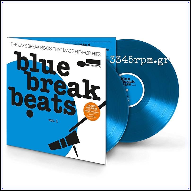 Blue Break Beats Vol.1 - Colored Vinyl 2LP 180gr