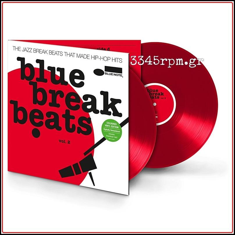 Blue Break Beats Vol.2 - Colored Vinyl 2LP 180gr