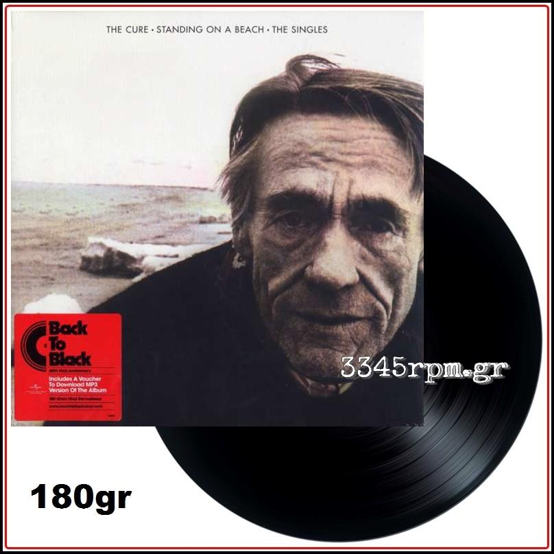 Cure - Standing On A Beach - The Singles - Vinyl LP 180gr