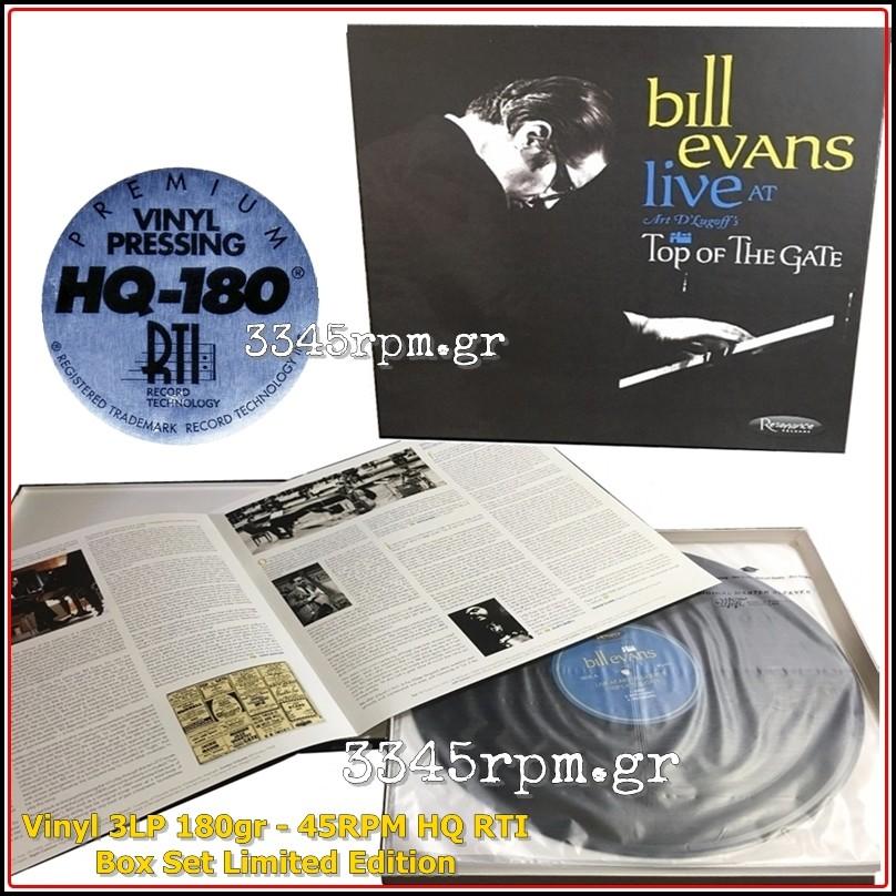 Evans, Bill - Live At Art D'Lugoff's Top Of The Gate - Vinyl 3LP 180gr Box  Set