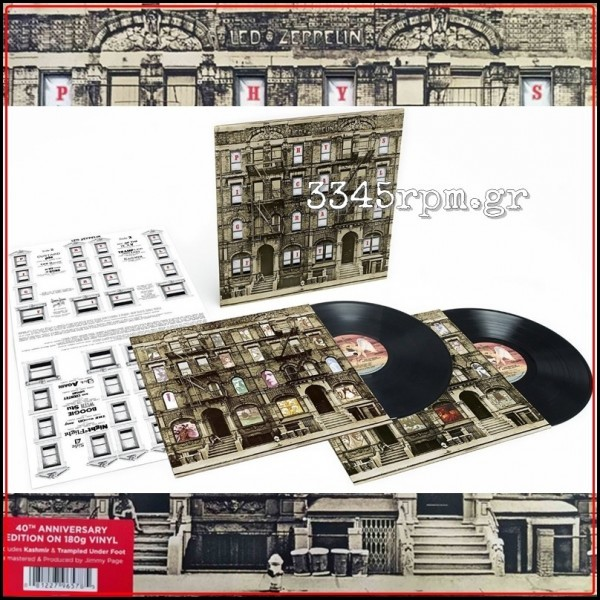 Led Zeppelin Physical Graffiti Vinyl 2lp 180gr 3345rpm