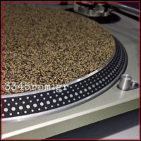Mix Cork High end Record Mat 1.5mm-Vinyl Aid