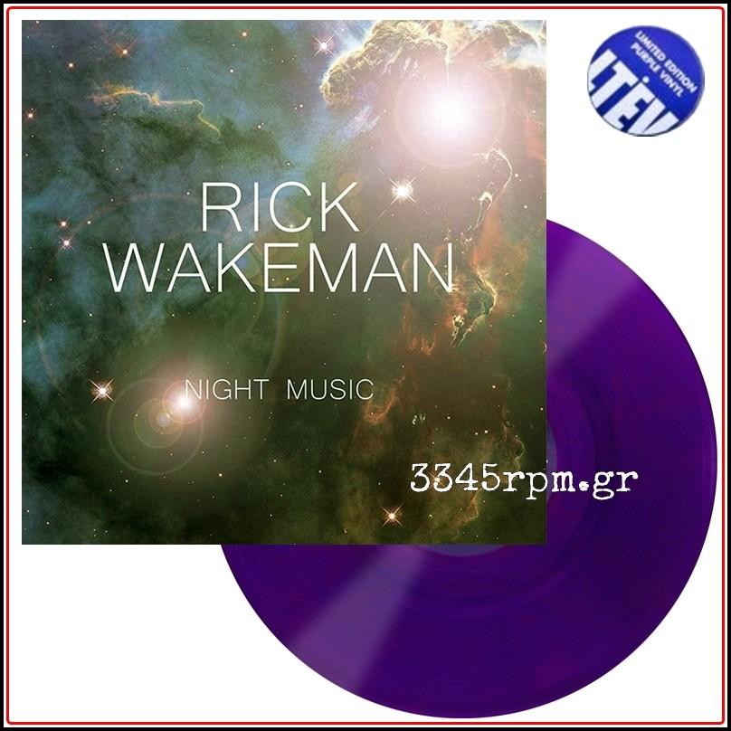 Wakeman, Rick - Night Music - Limited Edition Purple Vinyl LP