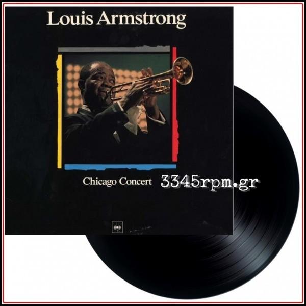 Armstrong , Louis - Chicago Concert - Vinyl LP