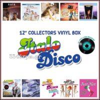 Italo Disco 12inch Collectors Vinyl Box -Vinyl 10 Maxi singles