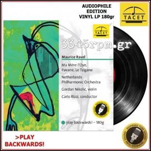 Ravel, Maurice - Ma mere l'Oye - Audiophile vinyl LP 180gr - Play Backwards!