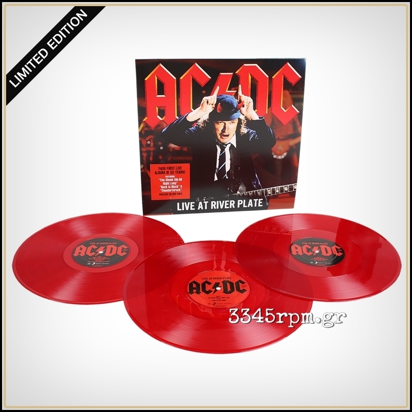 AC-DC - Live at river plate - 3LP 180gr Red Vinyl