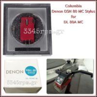 Denon DSN80 MC Replacement Stylus Turntable