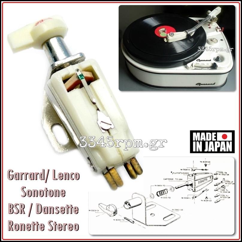 Garrard - BSR - Ronette Phonograph Turnover Stereo Cartridge