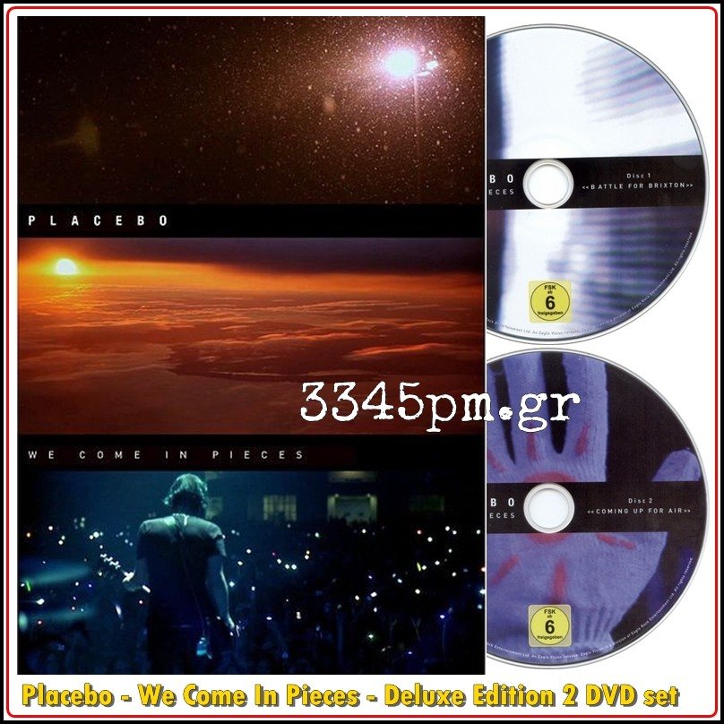 Placebo - We Come In Pieces - Deluxe Edition 2 DVD Box set