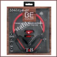 Vinyl Record Style Stereo Headphones, 3345rpm.gr