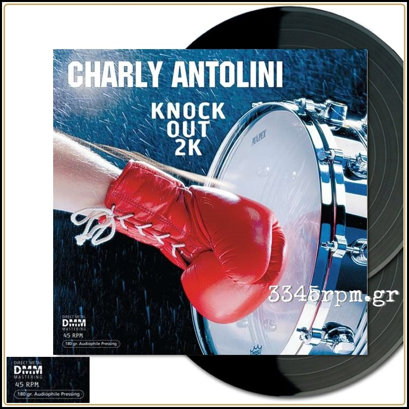 Antolini, Charly - Knock Out 2K - Vinyl 2LP 180gr 45RPM DMM