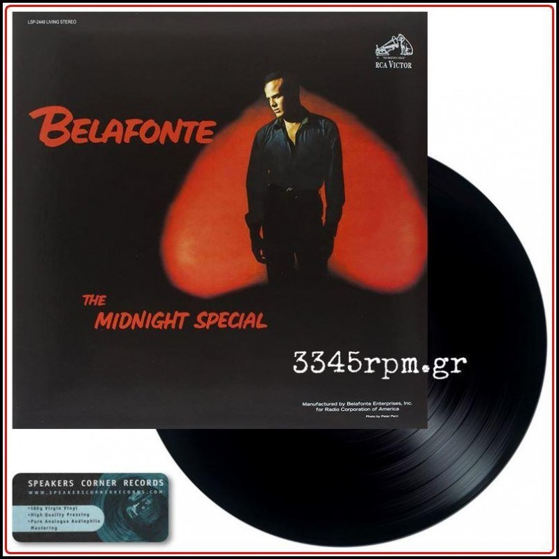 Belafonte, Harry - The Midnight Special - Vinyl LP 180gr HQ
