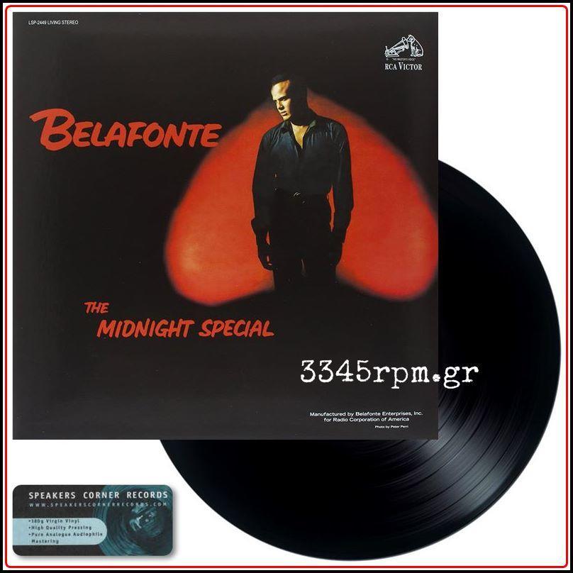 Belafonte, Harry - The Midnight Special - Vinyl LP 180gr HQ