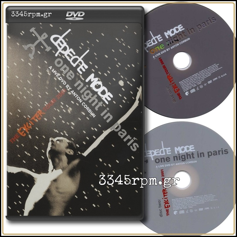 Depeche Mode One Night In Paris The Exciter Tour 2001 2dvd Set