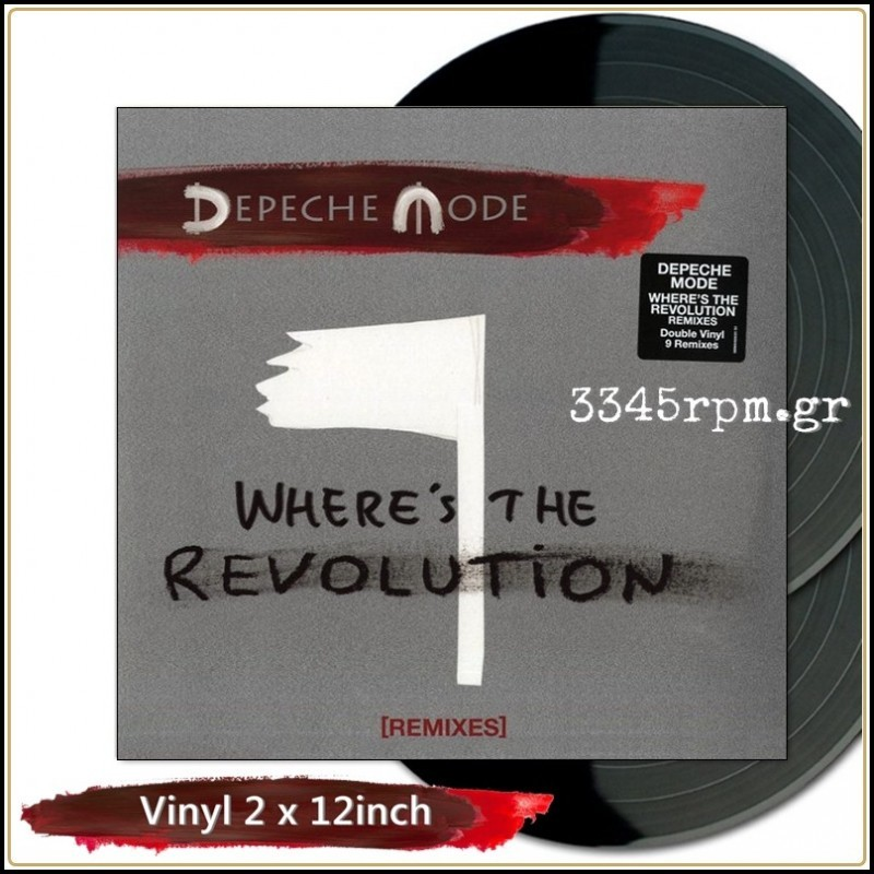 Depeche Mode - Where's The Revolution(Remixes) Vinyl 2x12inch
