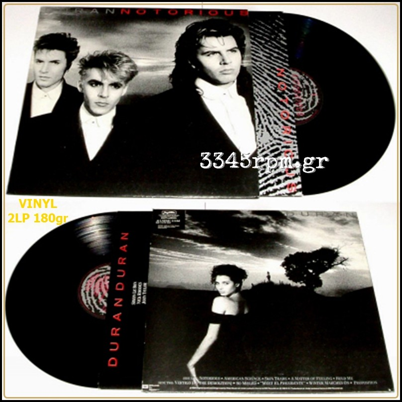 Duran Duran - Notorious - Vinyl 2LP 180gr