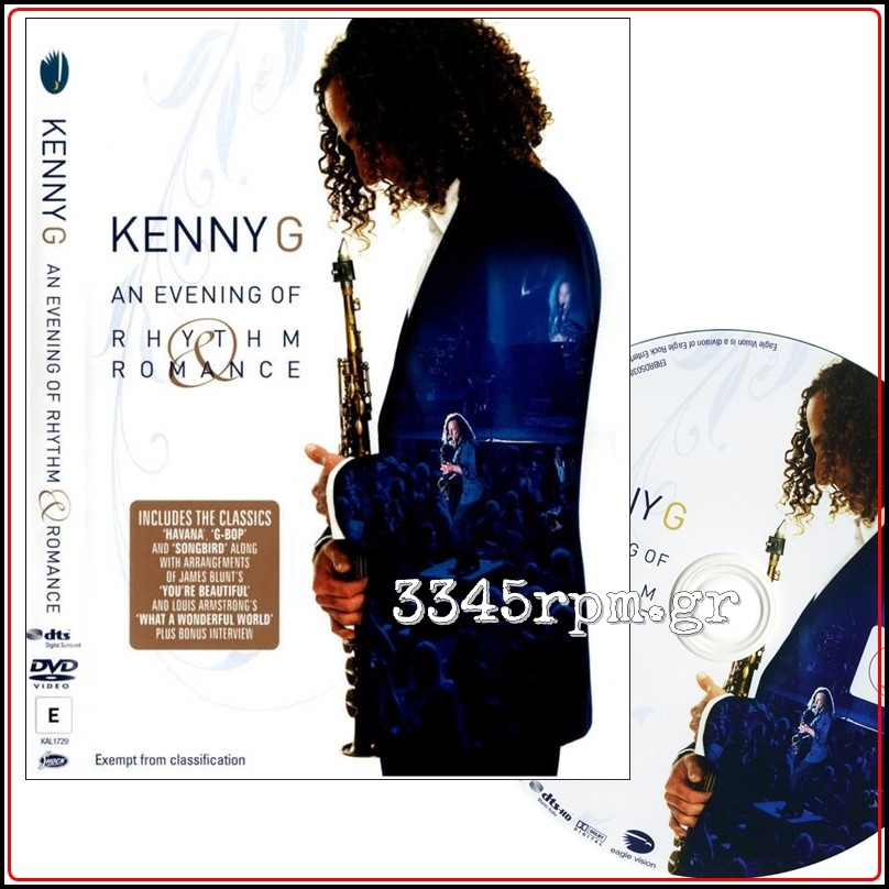 Kenny G - An Evening of Rhythm Romance (Best of) - DVD