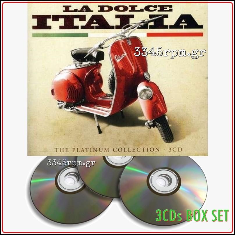 La Dolce Italia - Platinum Collection - 3CD Box Set