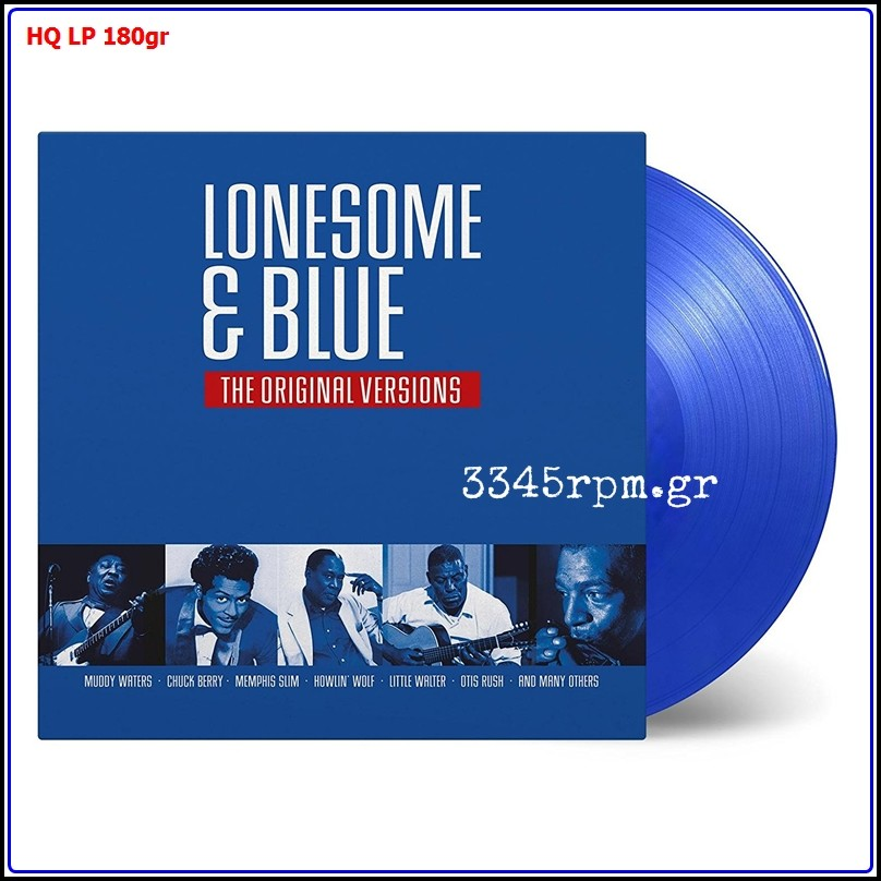 Lonesome & Blue - The Original Versions - Blue Vinyl LP 180gr