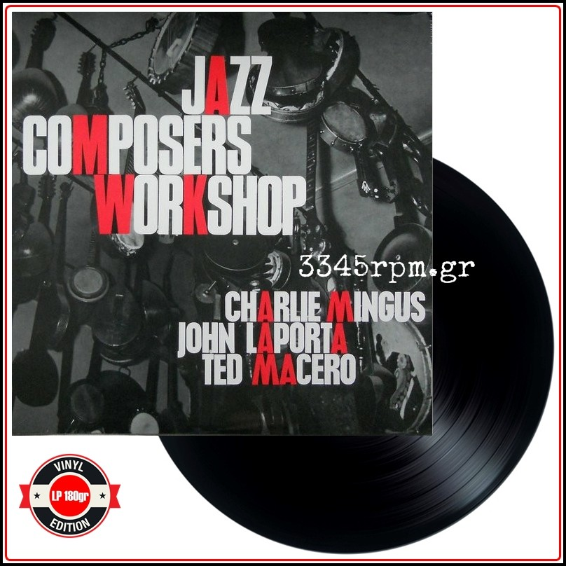 Mingus, Charles - Jazz Composers Workshop No 2 - HQ Vinyl LP 180gr