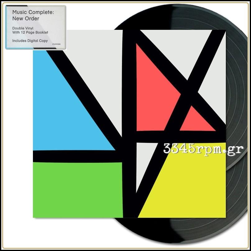 New Order - Music Complete - Vinyl 2LP Deluxe