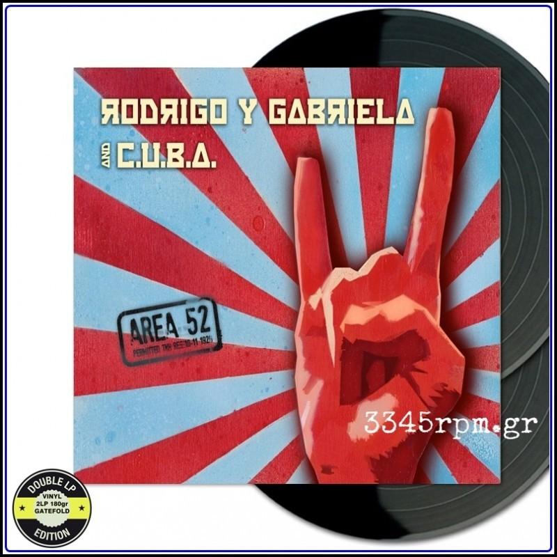 Rodrigo Y Gabriela - Area 52 - Vinyl 2LP 180gr 45RPM