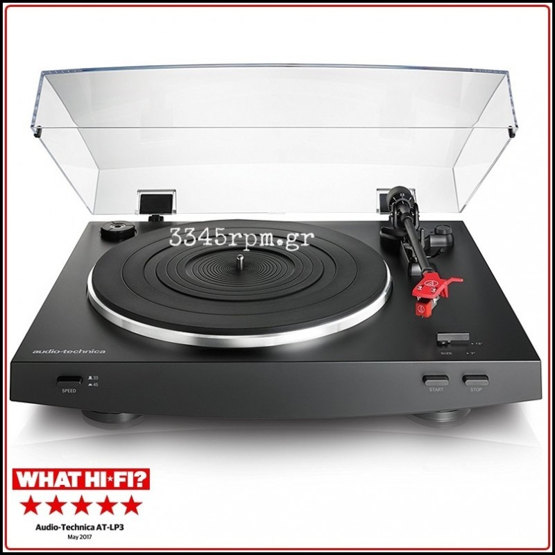 Audio Technica AT-LP3 Fully Automatic Belt-Drive Turntable