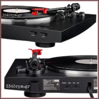 Audio Technica AT-LP3 Fully Automatic Belt_Drive Turntable