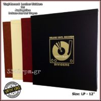 Vinyl Record LP Dividers for Audiophiles Deluxe Box Set 10pcs-