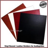 Vinyl Record LP Dividers for Audiophiles Deluxe BoxSet 10pcs