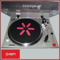 ION Audio DJ Kit - 2 Turntables & DJ Mixer Set -