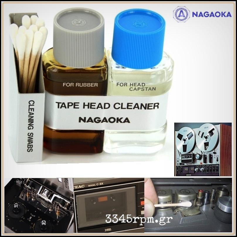 Nagaoka HC 800 II - Tape Head Cleaner Kit