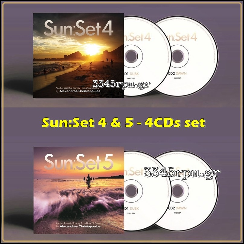 Sunset 4 & Sunset 5 by Alexandros Christopoulos - 4CD SET