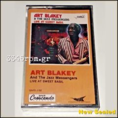 Art Blakey & The Jazz Messengers - Live At Sweet Basil - Cassette