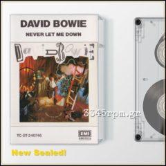 Bowie, David - Never Let Me Down Cassette Bowie, David Never Let Me