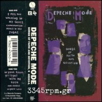 Depeche Mode - Songs Of Faith And Devotion- Cassette