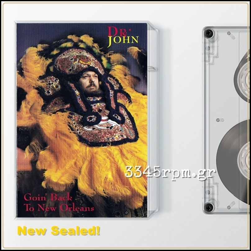 Dr. John Goin Back To New Orleans Cassette