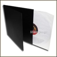 Gatefold standard cover for 2LP - 12inch -Black