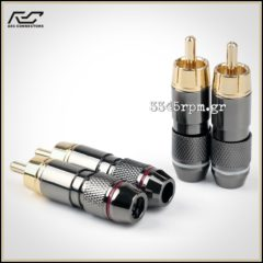 Rca Connectors - Phono RCA plugs - SET 4