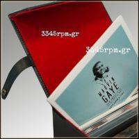 Retro Vintage Deluxe Record Case for 7inch Vinyl single Black1
