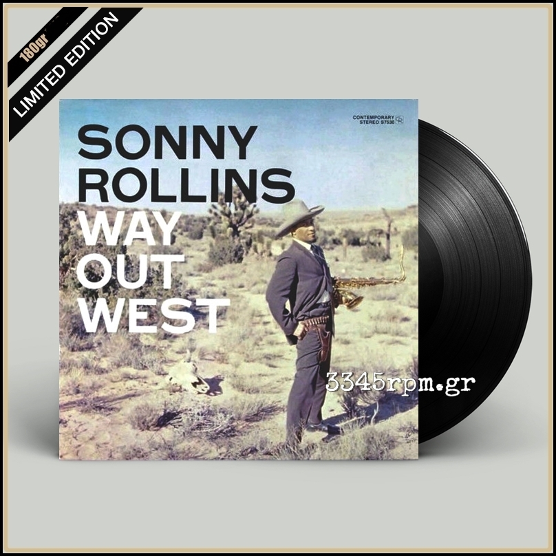 Rollins, Sonny - Way Out West - Vinyl LP 180gr
