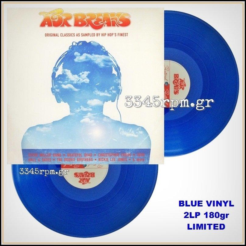AOR Breaks - Original Classics… Blue Vinyl 2LP 180gr