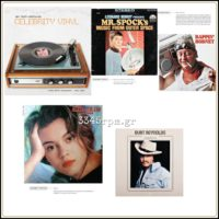 Celebrity Vinyl - Hardcover - Music Book-